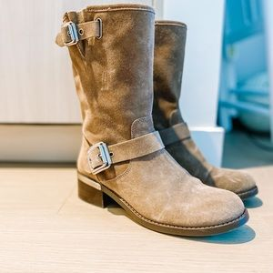 Vince Camuto Wellery Boots - Mid Calf